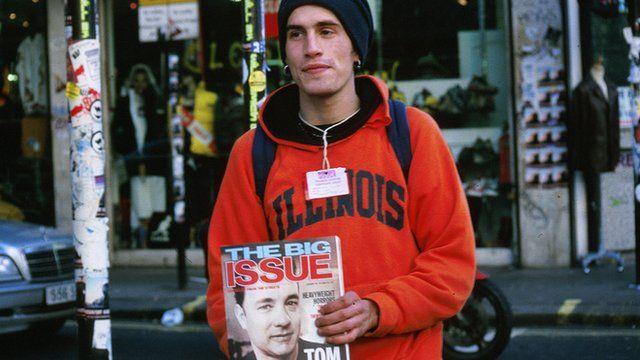 Big Issue vendor