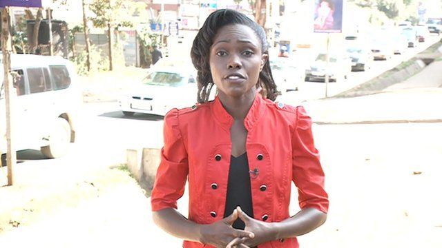 The BBC's Anne Soy in Nairobi