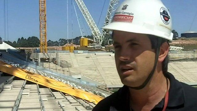 Ricardo Corregio, Commercial and Administrative Manager of the Arena Corinthians