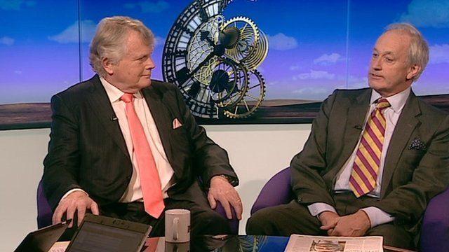 Lords Dobbs and Neil Hamilton