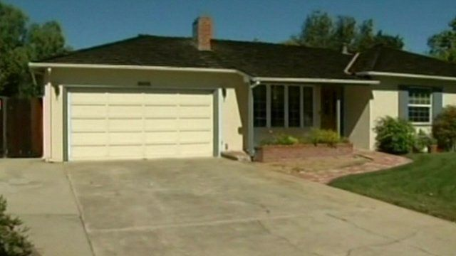 The childhood home of the Apple co-founder Steve Jobs