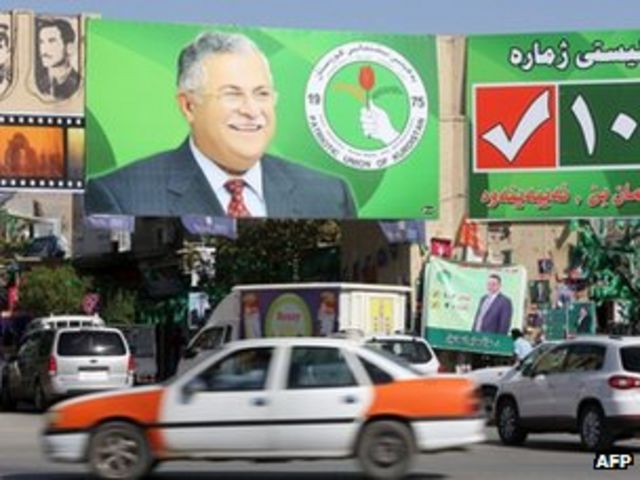 Iraqi Kurdistan opposition party beats PUK in elections