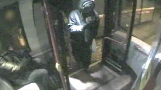 Phillip Simelane on the bus