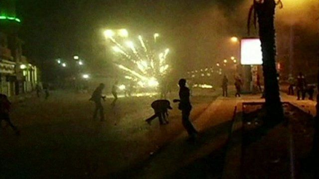 Pro and anti-Morsi protesters exchanged gunfire and threw petrol bombs