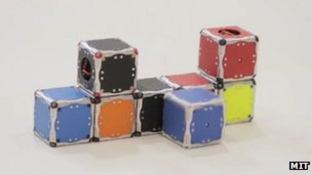 'Terminator' self-assembling cube robots revealed by MIT