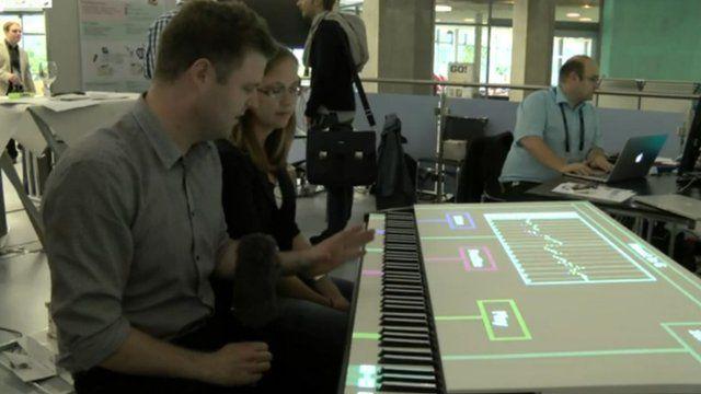 Guitar Hero piano