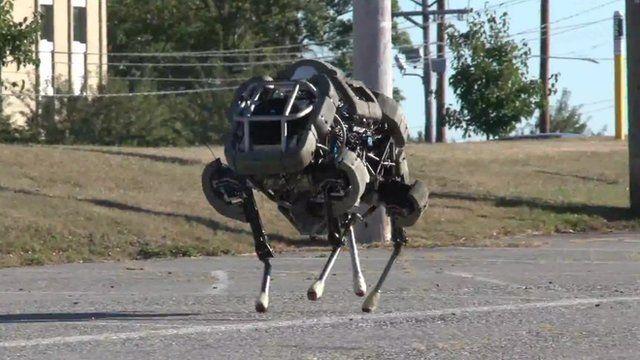 The WildCat robot by Boston Dynamics
