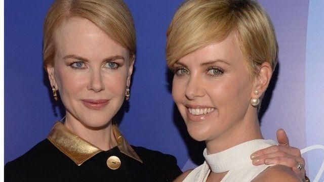 Nicole Kidman and Charlize Theron