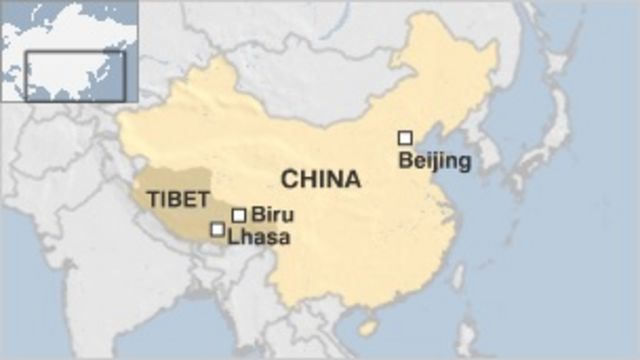 Tibet: Chinese police 'fired into protesters'