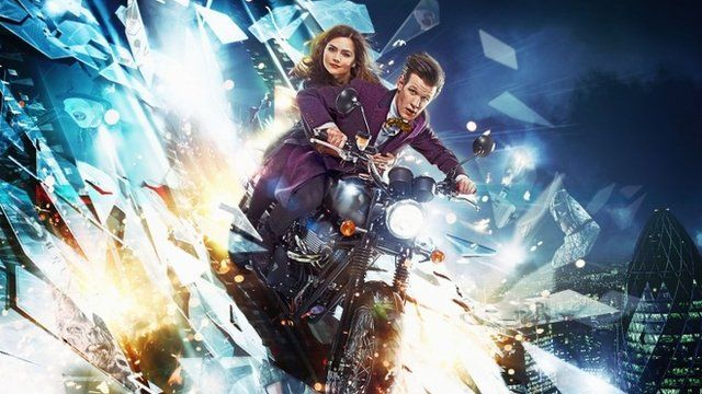 Picture shows – The Doctor (MATT SMITH), Clara (JENNA-LOUISE COLEMAN)
