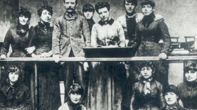 Matchgirls in Bow factory