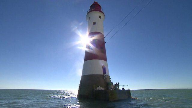 The Beachy Head lighthouse in East Sussex