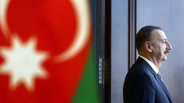 Incumbent president of Azerbaijan, Ilham Aliyev