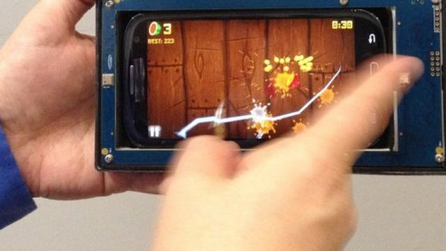 Ultrasound chip offers gesture control for mobiles
