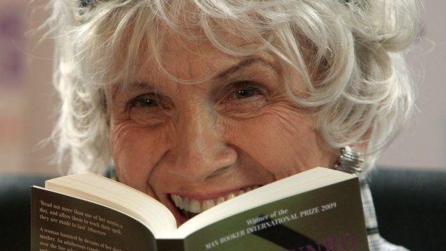 Author Alice Munro