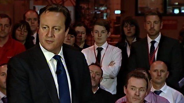 David Cameron in Yorkshire