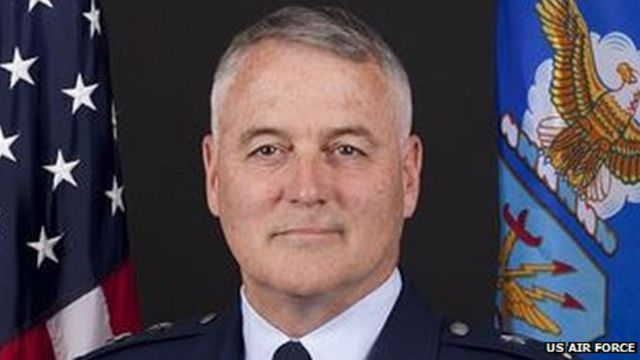 Sacked US General Michael Carey 'drank on Russia trip'