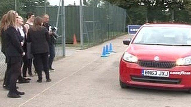 Driving scheme at Swadelands High School in Lenham