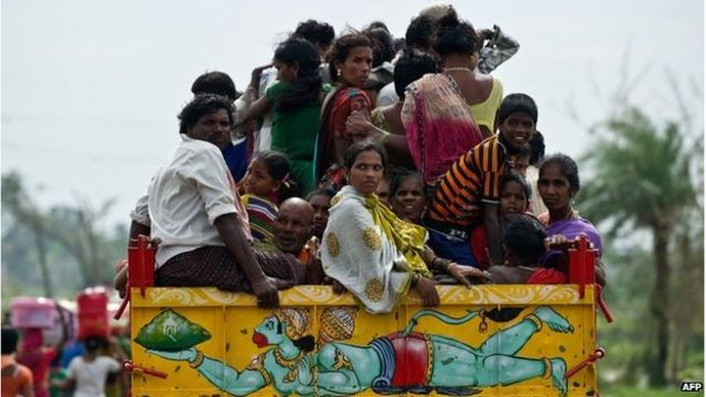 India's Cyclone Phailin leaves trail of destruction