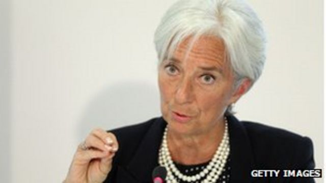 IMF chief warns a US default could spark recession