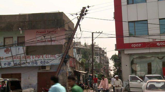 Damage in Orissa