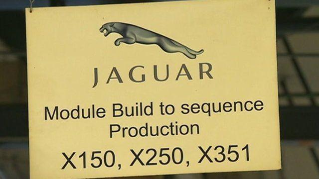 Jaguar production line