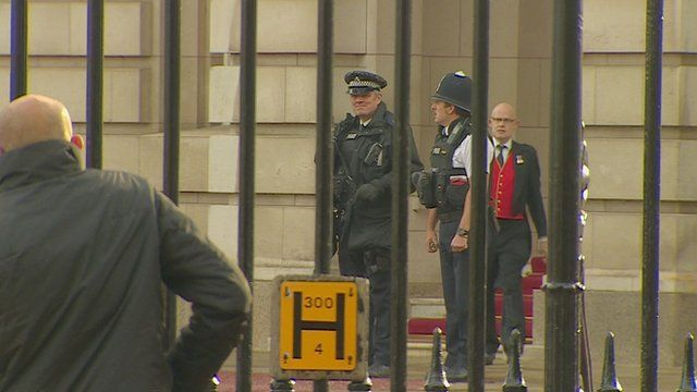 Buckingham Palace security