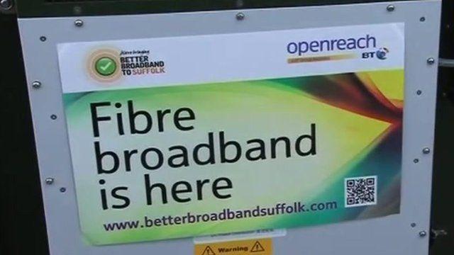Better broadband poster