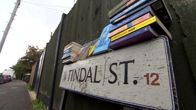 Tindal Street books and sign