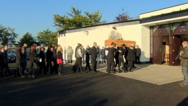 Barry McCrory funeral