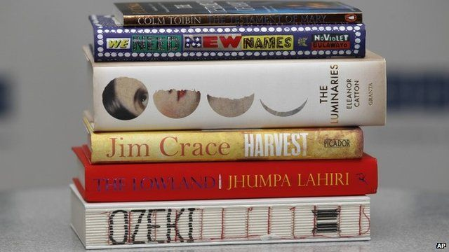 Books by Man Booker Prize shortlisted authors