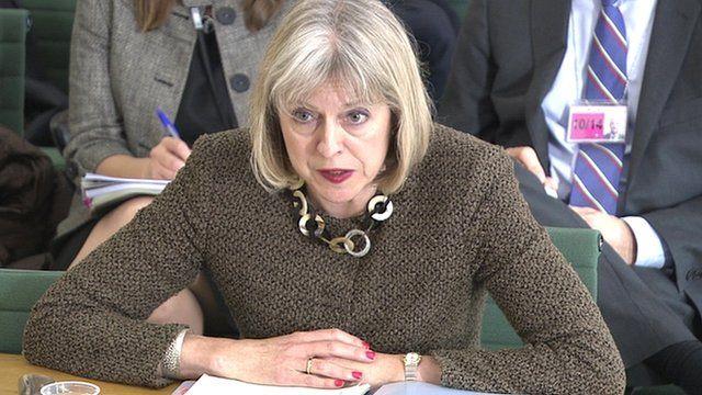 Home Secretary Theresa May MP