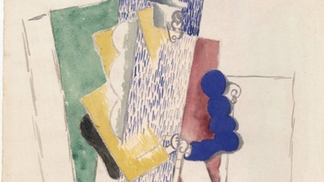 Picasso's The Man With The Opera Hat