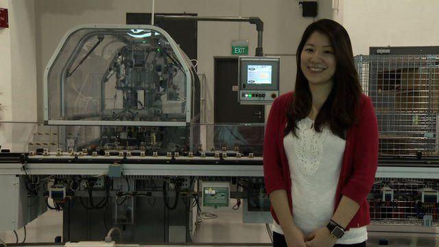 Consumer products engineer, Wang Han