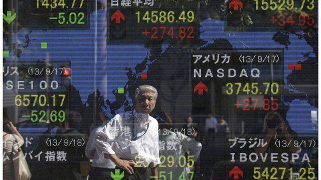 Markets board Tokyo