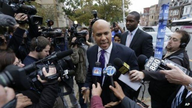 Cory Booker wins Senate seat in New Jersey