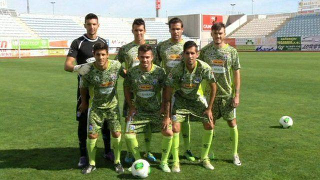 Spanish football team La Hoya