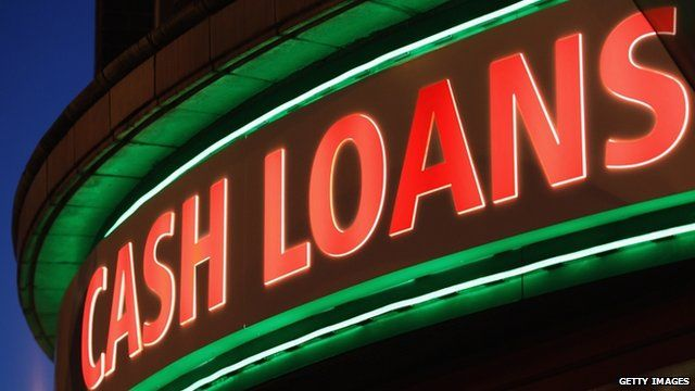 "A general view of a ""Speedy Cash"" cash loans shop on Brixton High Street"