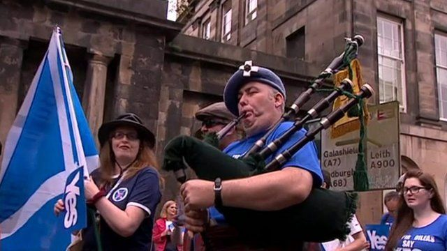 March in Scotland