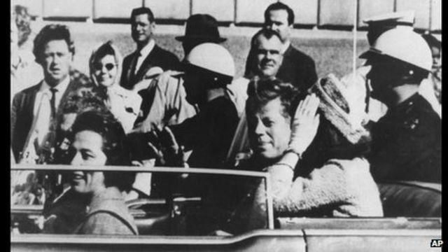 Where were you when JFK was assassinated?