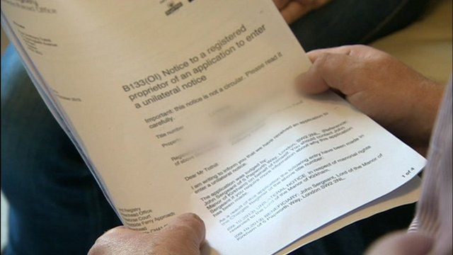 Land Registry document