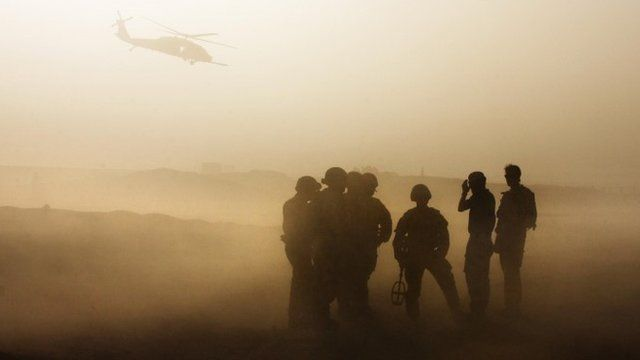 British troops in Afghanistan - file image