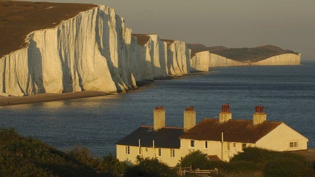 Chalk cliffs of the Seven Sisters