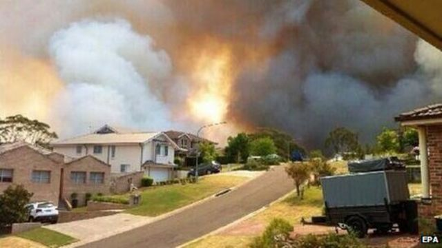 Australian bush fires: Military probes link to Lithgow blaze