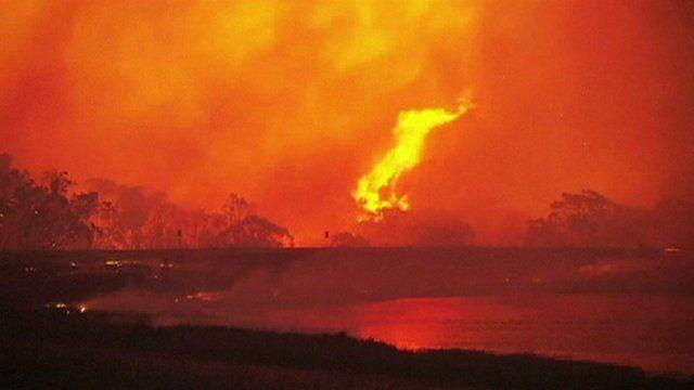 Fires burn in Australia