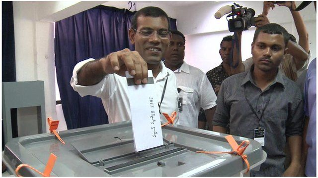 Maldives ex-president Mohamed Nasheed