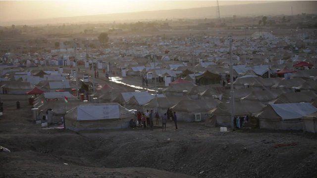 Iraqi Kurdistan refugee camp