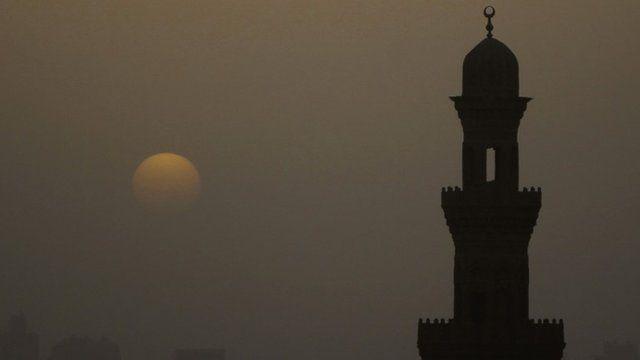 Minaret of a mosque