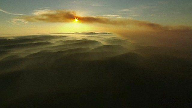 Blue Mountains engulfed by smoke