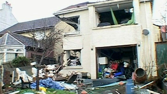 Jim Horan's house blown up in gas explosion